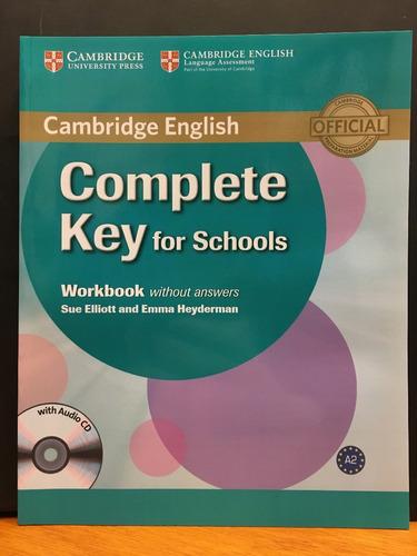 complete key for schools - workbook no key - cambridge