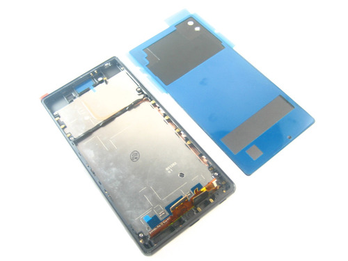 complete lcd +touch+cover+frame sony xperia z3+ e6553~black