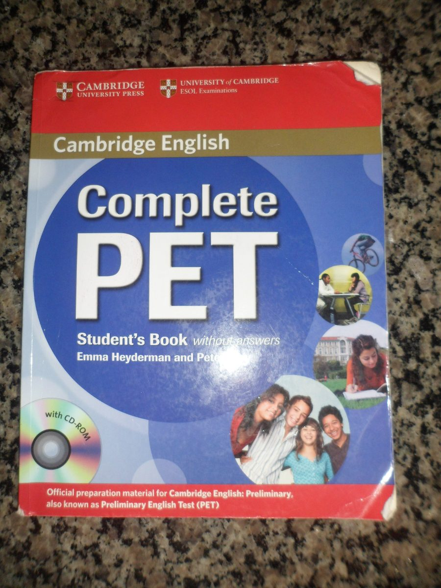 Complete Pet Students Book Without Answers