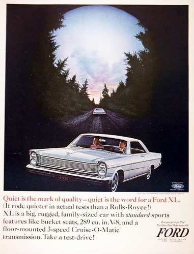 completito ford xl 500 coupe hard top serie galaxie 1965