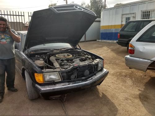 completo o partes mercedes 560 sec automatico 8 cil 1991
