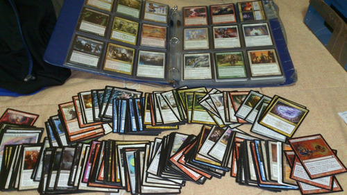 completo set de 1500 cartas magic