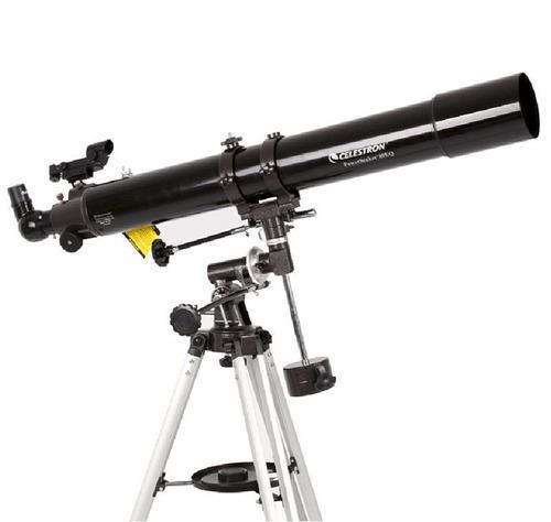 completo telescopio de potencia celestron power seeker 80eq