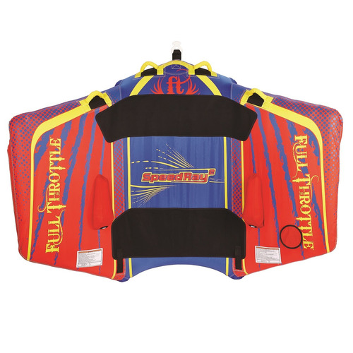 completo throttle velocidad rayo 2 - 1 a 2 riders - rojo / a