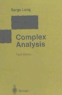 complex analysis(libro )