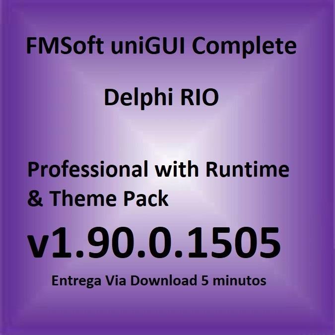 Componente Delphi Unigui Pro V1 90 0 1505 Complete Suite