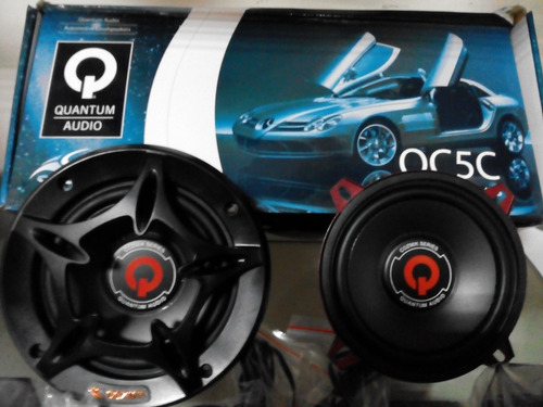 componentes 5 1/4 180 watts quantum audio qc5c