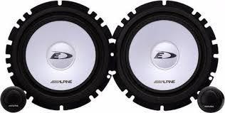 componentes alpine sxe-1750s parl+ tweeters 280 watts