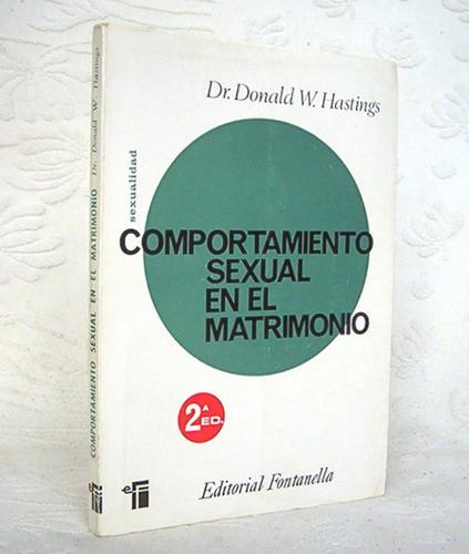 comportamiento sexual en el matrimonio dr. donald hastings