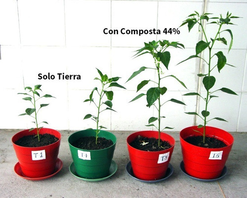 composta enriquecida 44% de materia orgánica, 3 kilos