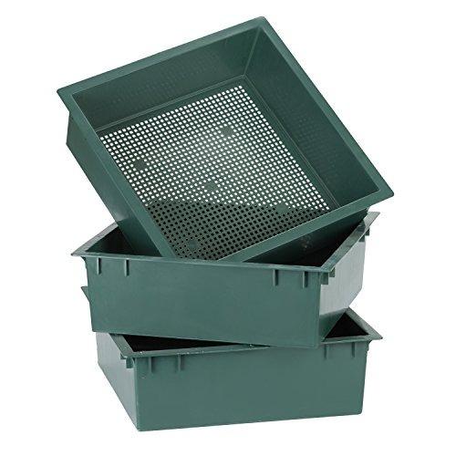 compostador gusano estrellas 3-bandeja apilable / expansibl