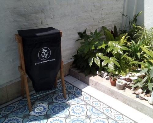 compostera basura responsable depto balcón lavadero 20 lts.