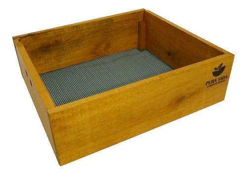 compostera de madera 1-2 personas 2 módulos 42 l pura vida