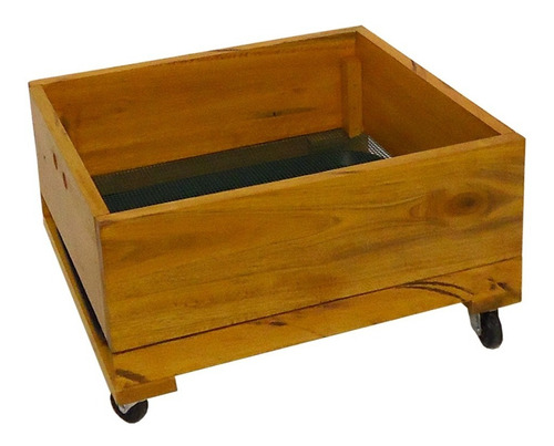 compostera de madera 3-4 personas 3 módulos 65 l pura vida