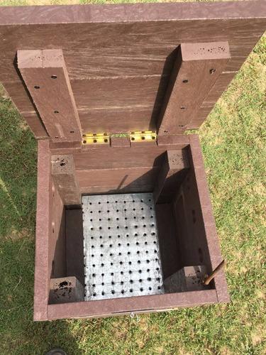 compostera familiar en madera plástica - promo lanzamiento!!