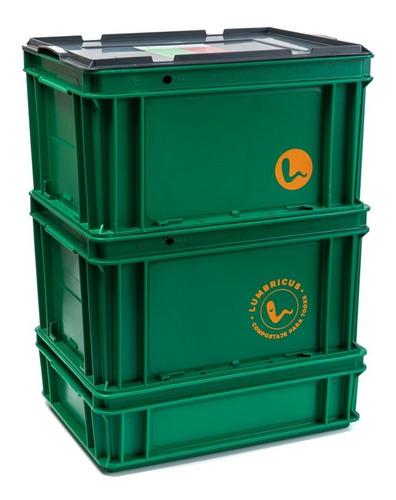 compostera lumbricus clásica 40 litros edición limitada
