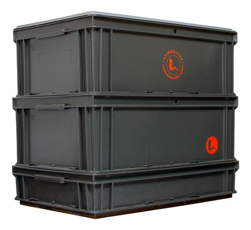compostera lumbricus xl 80 litros (villa urquiza)