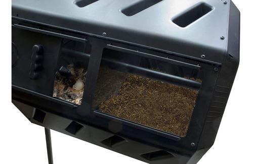 compostero 2 camaras giratorio compostador bioenzimas abono