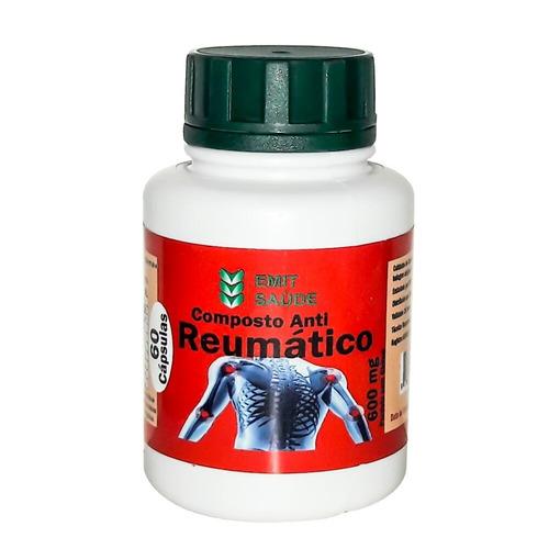 composto anti reumático 24 potes 600 mg - frete grátis