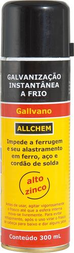 composto p/galvaniz. frio300ml spray-allc allchem