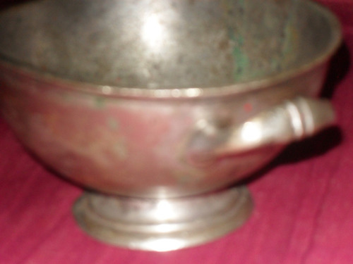 compotera maciza antigua