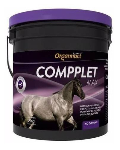 compplet max 2 kg - organnact - pet shop store