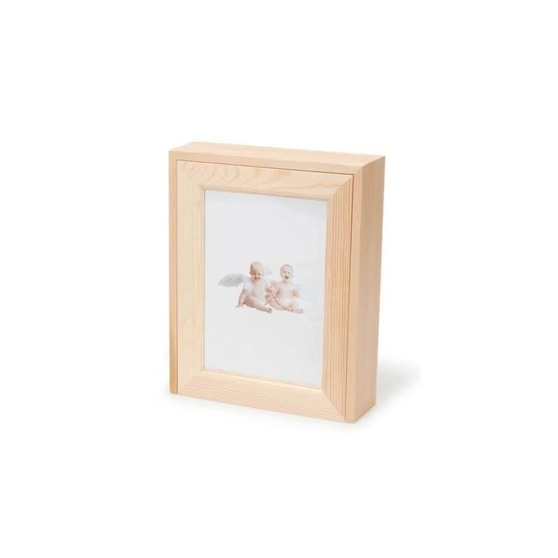 Compra A Granel: Darice Diy Crafts Caja De Madera Caja De Fo ...