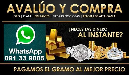 compra de oro 18k mejor precio alhajas relojes monedas rolex