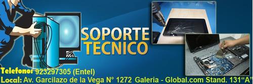compra - venta - servicio tecnico de cpu´s y laptops