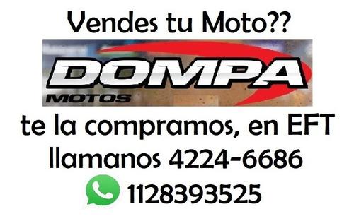 compramos motos usadas yamaha nmx 155 abs dompa motos