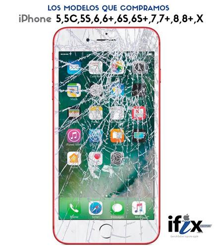 compramos pantallas rotas de iphone