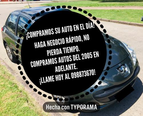 compramos su auto en el día! llámenos 098873670