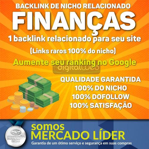 comprar backlink nicho finanças dofollow guest post seo