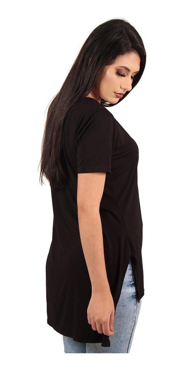 6319012a9f309 comprar camisas blusas roupas femininas long line basicas. Carregando zoom.