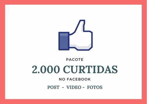 comprar curtidas -  2.000 curtidas no facebook + bonus plus