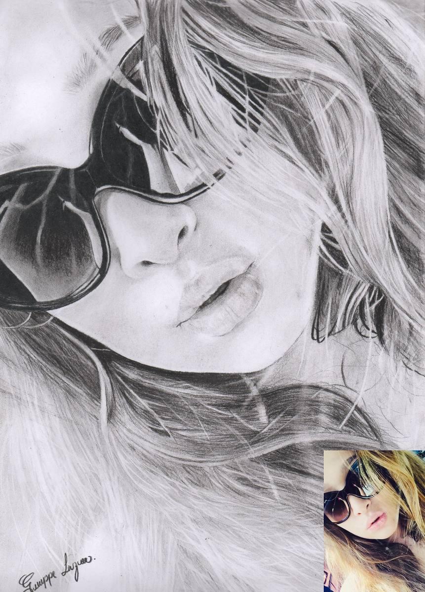 Comprar Retratos Realistas Dibujos A Lapiz Carboncillo 45 000
