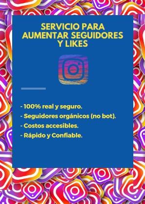 comprar seguidores y likes para instagram