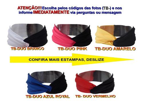 compre 4 faixas cabelo turbante headband estampada tiara