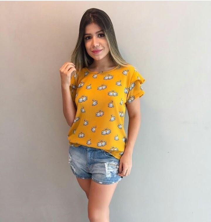 bc9a3b285 Compre Barato - Moda Feminina - Blusas Fina - Revenda - R$ 125,00 em ...