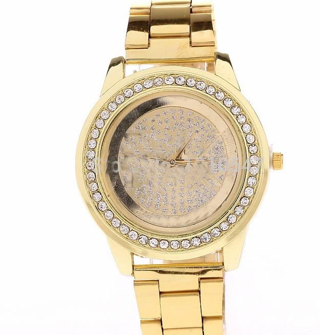 7ab8e632222 Compre Online Acessórios Relógio Dourado Feminino - R  79