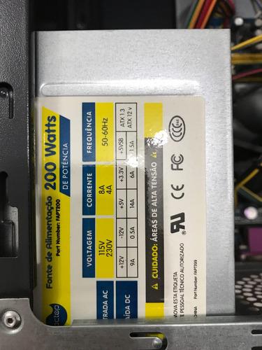 compre pc torre core 2 duo para circuito cctv