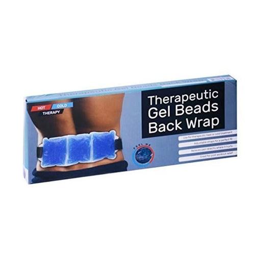 compresa cinturon de gel. terapia de frio y calor