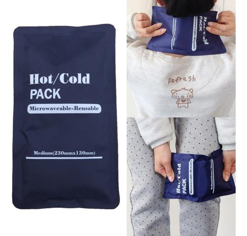 compresas de gel calor y frío 13cm ancho x 27cm largo