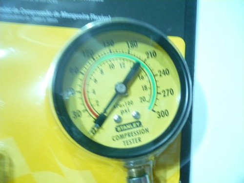 compresimetro para motor a gasolina  stanley