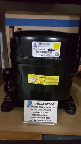 compresor 1 hp tecumseh r22 220v tya9455ees conservación