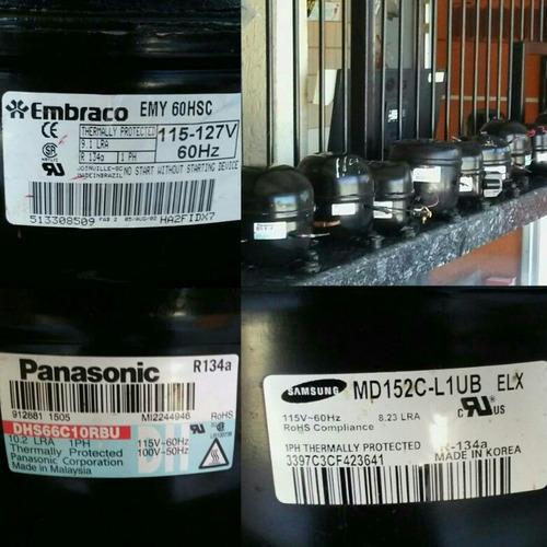 compresor 1/6 para nevera frezer enfriador botellero