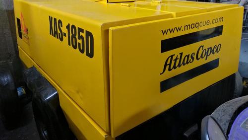 compresor 185pcm atlas xas185d listo para trabajar