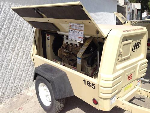 compresor 185pcm ingersollrand 2010 motor johndeere 4cil.