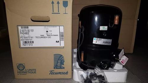compresor 2hp tecumseh frances r404a 220v nuevos