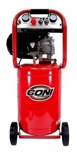compresor 3.5 hp tanque de 50 lts vertical goni gon958